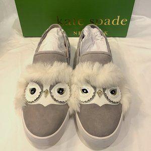 Kate Spade Owl Lefferts Sneakers Women's Size 7.5